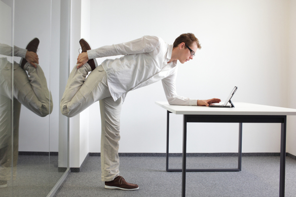 Live Well, Work Well: One-Minute Office Workout