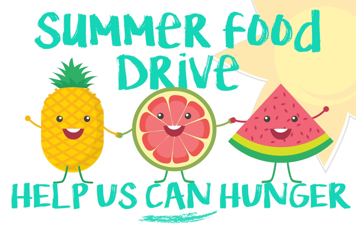 Help Us CAN Hunger: Summer Food Drive